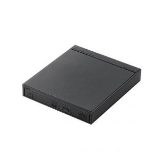 [新春初売りセール]スマホ・タブレット用ワイヤレスDVDドライブ ブラック【1月中旬】