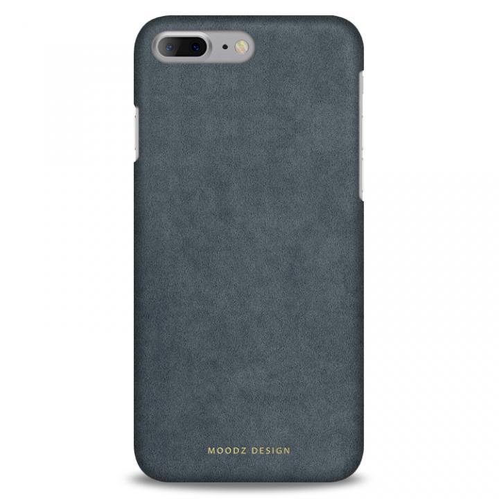 【iPhone7 Plusケース】スエード調人造皮革アルカンターラケース Moodz Design グレイ iPhone 7 Plus_0