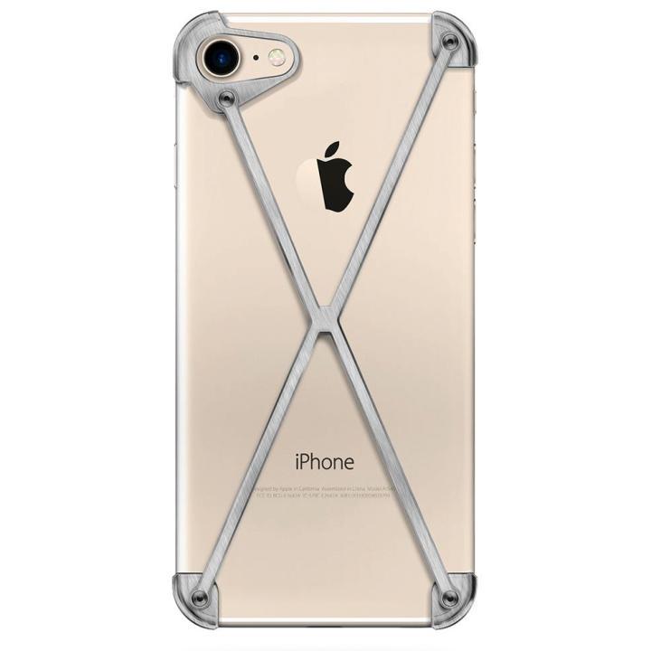 【iPhone7ケース】ミニマムデザインカバー RADIUS case Brushed iPhone 7_0