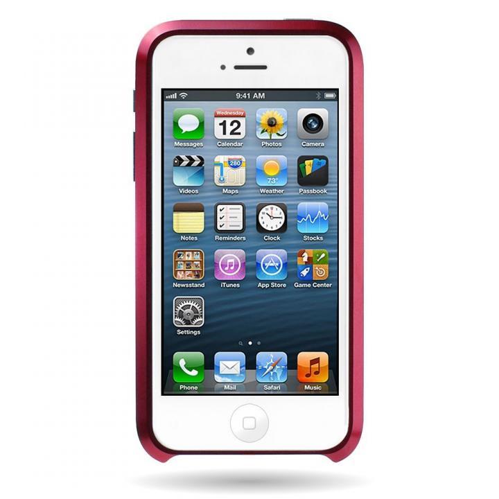iPhone SE/5s/5 ケース Mindplar ELITE  iPhone SE/5s/5 レッド_0