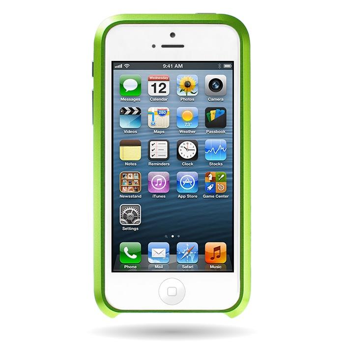 iPhone SE/5s/5 ケース Mindplar ELITE  iPhone SE/5s/5 グリーン_0