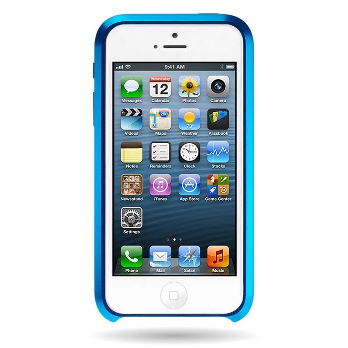 iPhone SE/5s/5 ケース Mindplar ELITE  iPhone SE/5s/5 スカイブルー_0