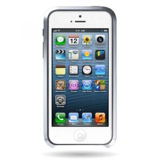 iPhone SE/5s/5 ケース Mindplar ELITE  iPhone SE/5s/5 シルバー