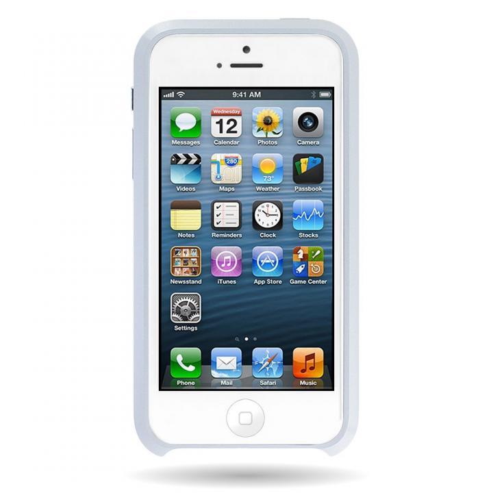 iPhone SE/5s/5 ケース Mindplar ELITE  iPhone SE/5s/5 ホワイト_0