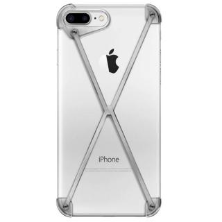 ミニマムデザインカバー RADIUS case Brushed iPhone 7 Plus