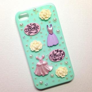 【その他のiPhone/iPodケース】iPhone4/4s ケース Dress