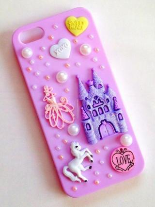 iPhone SE/5s/5 ケース Princess