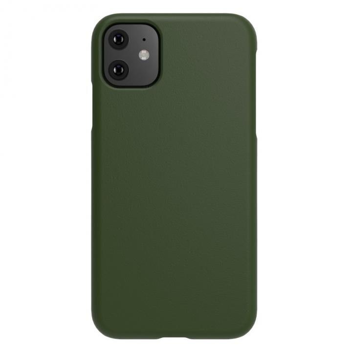 iPhone 11 ケース LINKASE TRUE-LEATHER グリーン iPhone 11【2月下旬】_0