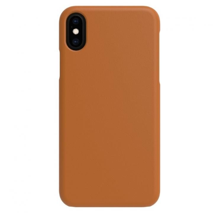 iPhone XS/X ケース LINKASE TRUE-LEATHER ライトブラウン iPhone XS/X【2月下旬】_0