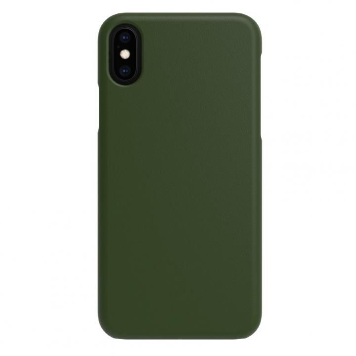 iPhone XS/X ケース LINKASE TRUE-LEATHER グリーン iPhone XS/X_0