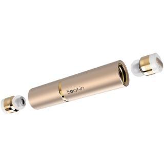 超小型・完全ワイヤレスイヤホン Beat-in Stick ゴールド
