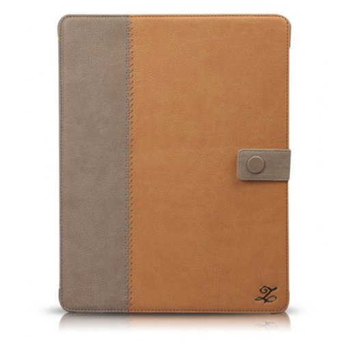 iPad3ケース Masstige E-Note Diary キャメル