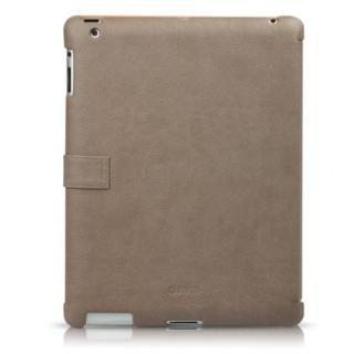 iPad3ケース Masstige E-Note Diary キャメル_2