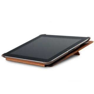 iPad3ケース Masstige E-Note Diary キャメル_4