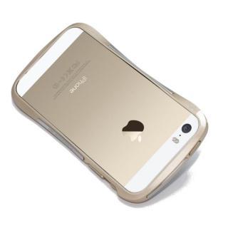 iPhone SE/5s/5 ケース CLEAVE ALUMINUM BUMPER Mighty  ゴールド iPhone SE/5s/5