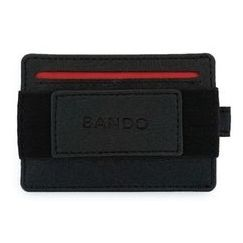 BANDO 2.0 SLIM UTILITY WALLET Stealth Black_0