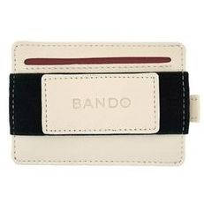 BANDO 2.0 SLIM UTILITY WALLET Off White