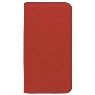 【iPhone X ケース】LORNA PASSONI レザー手帳型ケース レッド iPhone X【10月上旬】