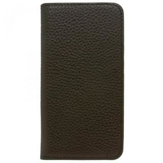 iPhone8 Plus/7 Plus ケース LORNA PASSONI レザー手帳型ケース ブラック iPhone 8 Plus/7 Plus【4月中旬】