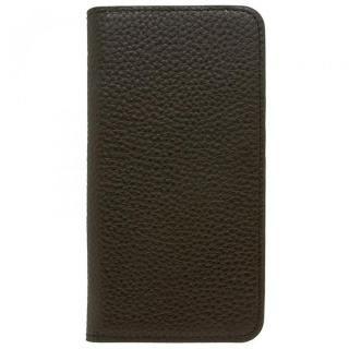 iPhone8 Plus/7 Plus ケース LORNA PASSONI レザー手帳型ケース ブラック iPhone 8 Plus/7 Plus