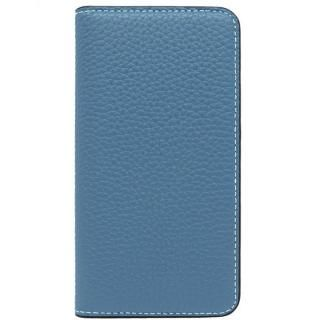 【iPhone X ケース】LORNA PASSONI レザー手帳型ケース ブルー iPhone X【10月上旬】