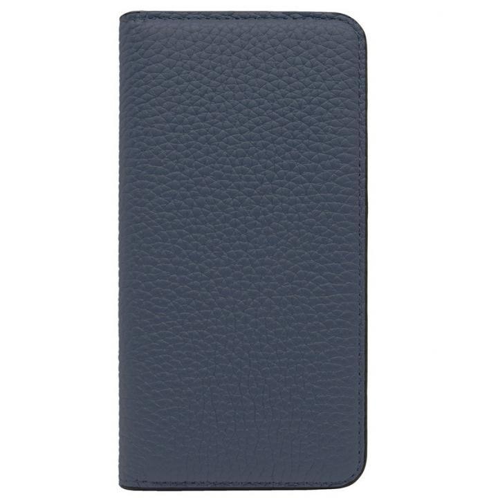【iPhone8/7ケース】LORNA PASSONI レザー手帳型ケース ネイビー iPhone 8/7_0