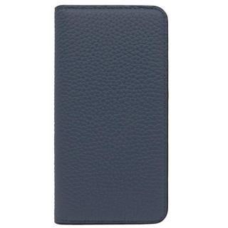 iPhone8/7 ケース LORNA PASSONI レザー手帳型ケース ネイビー iPhone 8/7
