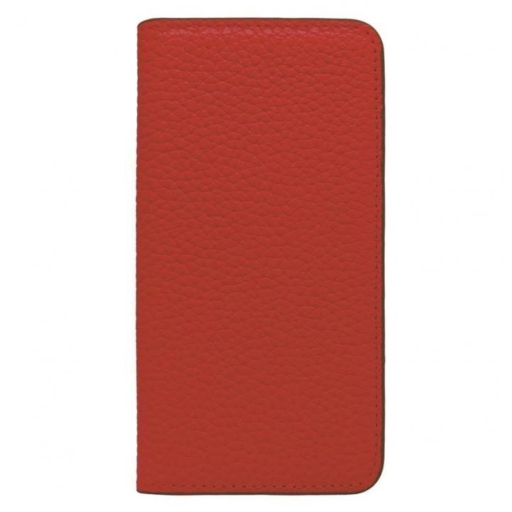 iPhone8/7 ケース LORNA PASSONI レザー手帳型ケース レッド iPhone 8/7_0