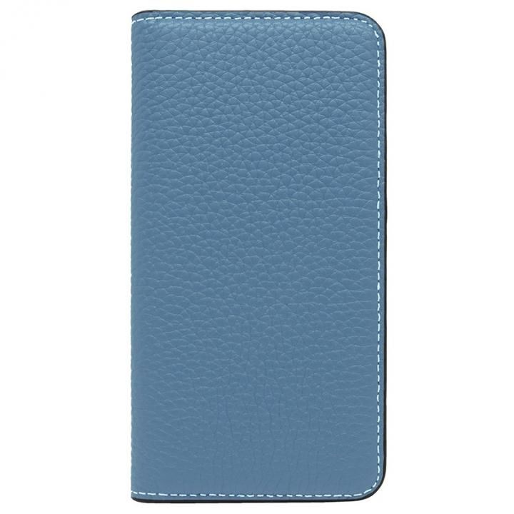 iPhone8/7 ケース LORNA PASSONI レザー手帳型ケース ブルー iPhone 8/7【1月下旬】_0