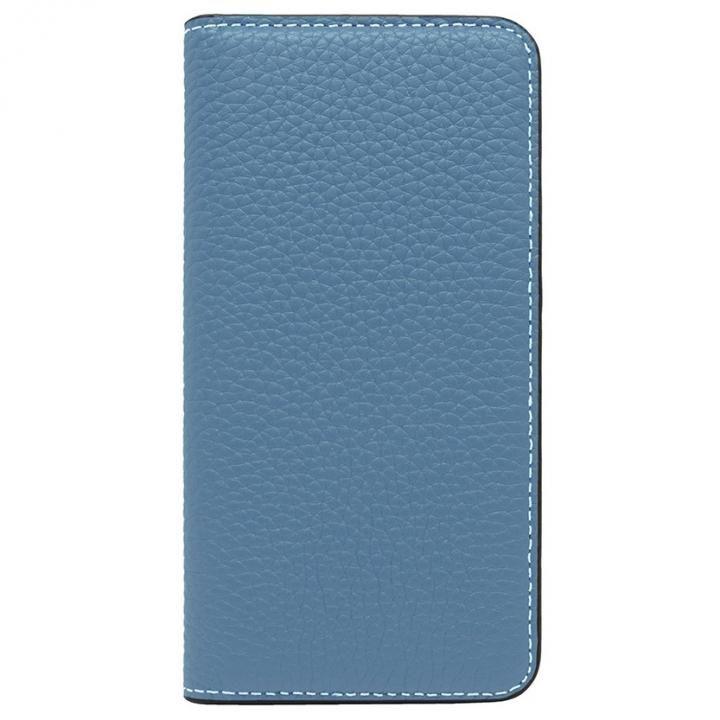 iPhone8/7 ケース LORNA PASSONI レザー手帳型ケース ブルー iPhone 8/7_0