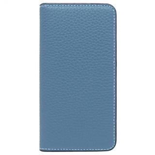 LORNA PASSONI レザー手帳型ケース ブルー iPhone 8/7