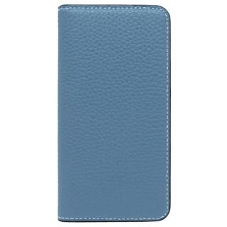 iPhone8/7 ケース LORNA PASSONI レザー手帳型ケース ブルー iPhone 8/7【9月下旬】