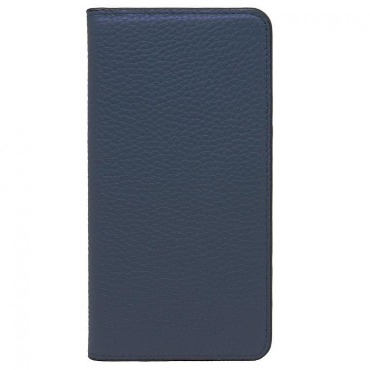 iPhone8 Plus/7 Plus ケース LORNA PASSONI レザー手帳型ケース ネイビー iPhone 8 Plus/7 Plus_0