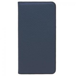 iPhone8 Plus/7 Plus ケース LORNA PASSONI レザー手帳型ケース ネイビー iPhone 8 Plus/7 Plus