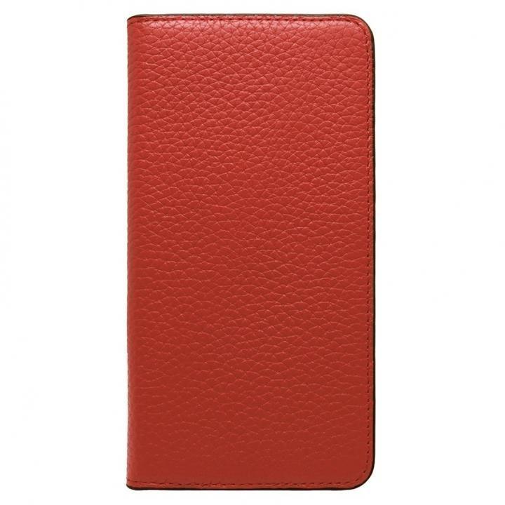 iPhone8 Plus/7 Plus ケース LORNA PASSONI レザー手帳型ケース レッド iPhone 8 Plus/7 Plus_0