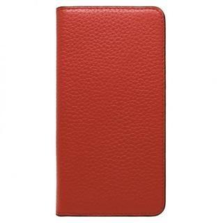 LORNA PASSONI レザー手帳型ケース レッド iPhone 8 Plus/7 Plus