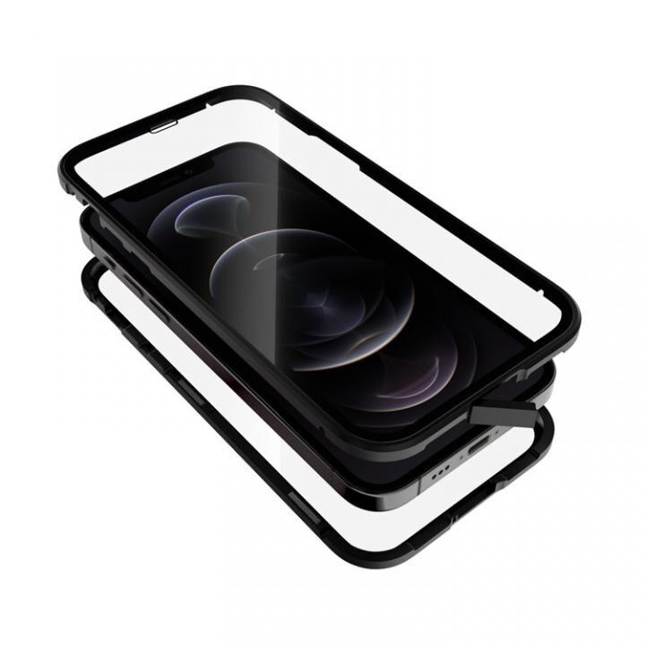 Monolith Alluminio 2020 モノリス アルミニオ 2020 ゴリラガラス+アルミバンパー ブラック iPhone 12/iPhone 12 Pro_0