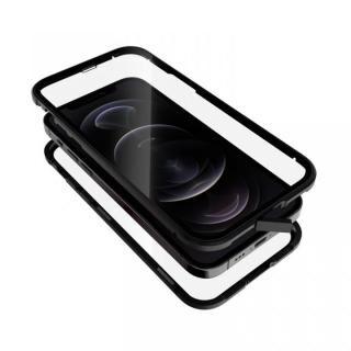 iPhone 12 / iPhone 12 Pro (6.1インチ) ケース Monolith Alluminio 2020 モノリス アルミニオ 2020 ゴリラガラス+アルミバンパー ブラック iPhone 12/iPhone 12 Pro【3月上旬】