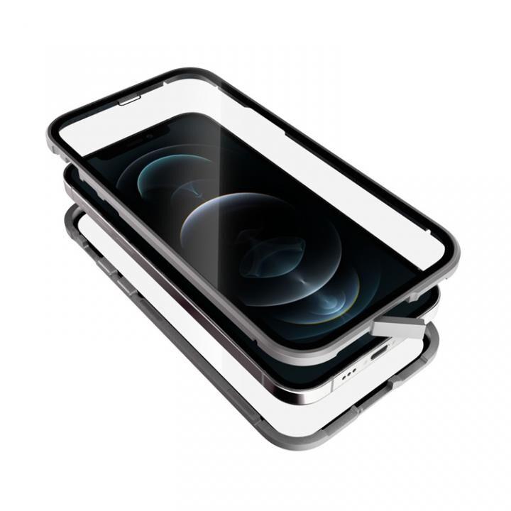 Monolith Alluminio 2020 モノリス アルミニオ 2020 ゴリラガラス+アルミバンパー シルバー iPhone 12/iPhone 12 Pro_0
