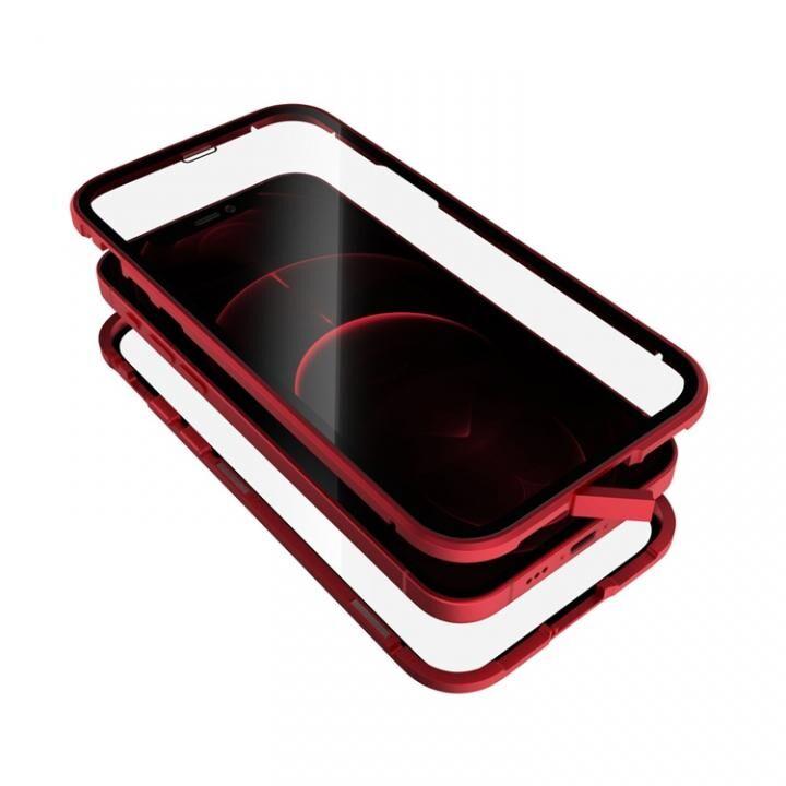 Monolith Alluminio 2020 モノリス アルミニオ 2020 ゴリラガラス+アルミバンパー レッド iPhone 12/iPhone 12 Pro_0