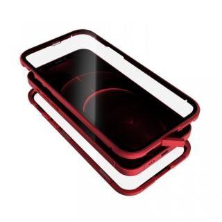 iPhone 12 / iPhone 12 Pro (6.1インチ) ケース Monolith Alluminio 2020 モノリス アルミニオ 2020 ゴリラガラス+アルミバンパー レッド iPhone 12/iPhone 12 Pro