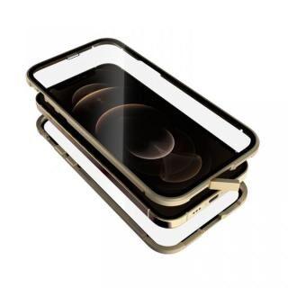 iPhone 12 / iPhone 12 Pro (6.1インチ) ケース Monolith Alluminio 2020 モノリス アルミニオ 2020 ゴリラガラス+アルミバンパー ゴールド iPhone 12/iPhone 12 Pro