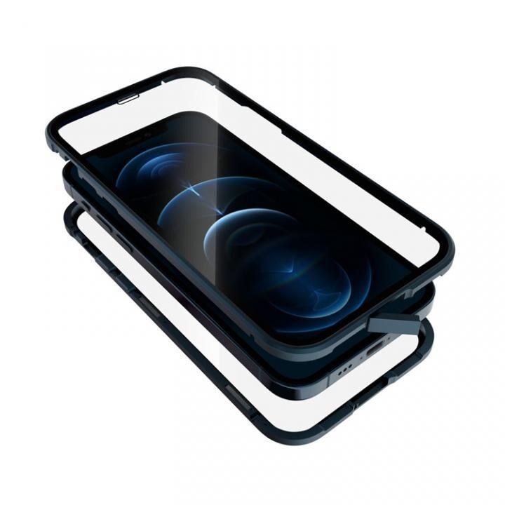 Monolith Alluminio 2020 モノリス アルミニオ 2020 ゴリラガラス+アルミバンパー ブルー iPhone 12/iPhone 12 Pro_0