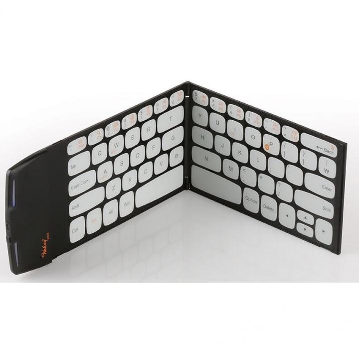 スマホよりも薄くて軽い 世界最薄、最軽量ポケットサイズのキーボード Wekey ブラック_0