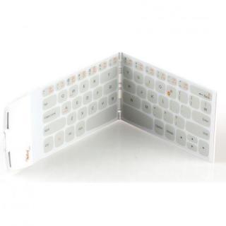 スマホよりも薄くて軽い 世界最薄、最軽量ポケットサイズのキーボード Wekey ホワイト