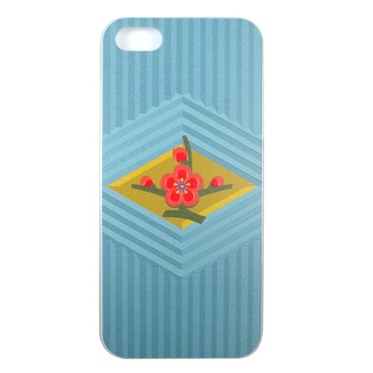 iPhone SE/5s/5 ケース WAMONケース 梅の意匠 iPhone 5ケース