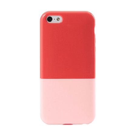 【iPhone5】ハードケース CAPSULE レッド