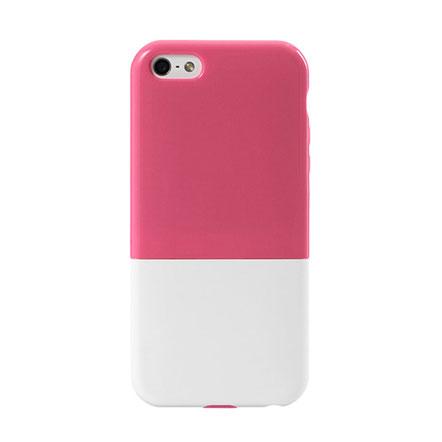 iPhone5 ハードケース CAPSULE ピンク