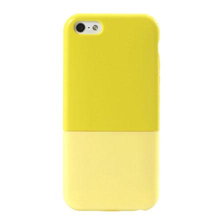 【iPhone5】ハードケース CAPSULE イエロー