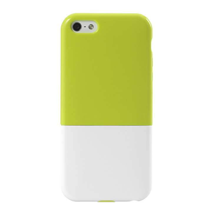 iPhone5 ハードケース CAPSULE グリーン
